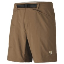 Mountain Hardwear Canyon Shorts - UPF 50 (For Men) in Cigar - Closeouts