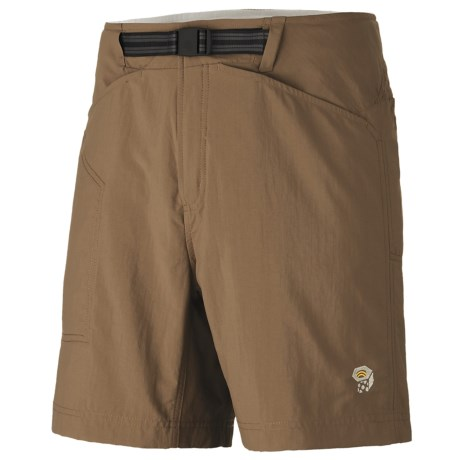 Mountain Hardwear Canyon Shorts - UPF 50 (For Men) in Cigar