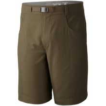Mountain Hardwear Canyon Shorts - UPF 50 (For Men) in Peat Moss - Closeouts