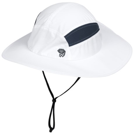 photo: Mountain Hardwear Canyon Wide Brim Hat