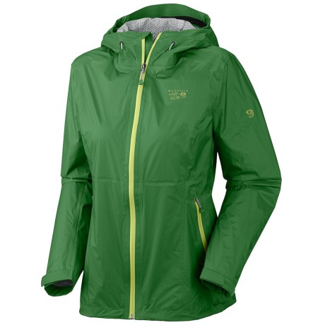 Mountain Hardwear Capacitor Dry.Q Evap Jacket - Waterproof (For Women) in Palm