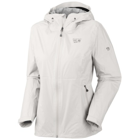 Mountain Hardwear Capacitor Dry.Q® Evap Jacket - Waterproof (For Women) in Sea Salt