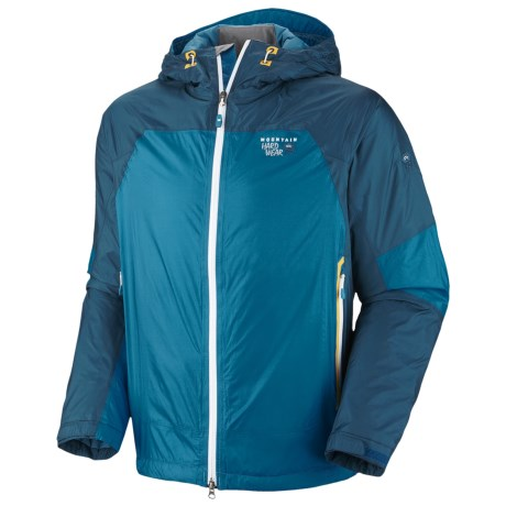 Mountain Hardwear Carillion Dry.Q® Elite Jacket - Waterproof, Insulated (For Men) in Capris/Lagoon