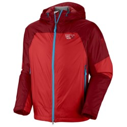 Mountain Hardwear Carillion Dry.Q Elite Jacket - Waterproof, Insulated (For Men) in Capris/Lagoon