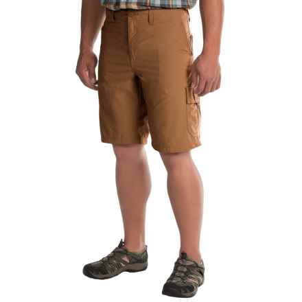 Mountain Hardwear Castil Cargo Shorts (For Men) in Golden Brown - Closeouts