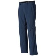 Mountain Hardwear Castil Convertible Pants - UPF 50 (For Men) in Hardwear Navy - Closeouts