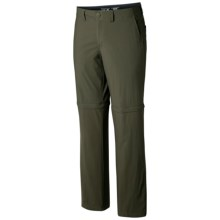 Mountain Hardwear Castil Convertible Pants - UPF 50 (For Men) in Peatmoss - Closeouts