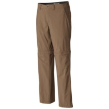 Mountain Hardwear Castil Convertible Pants - UPF 50 (For Men) in Saddle - Closeouts