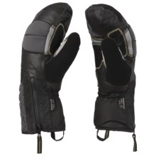 Mountain Hardwear Chawa Mittens - Waterproof (For Men) in Black - Closeouts