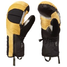 Mountain Hardwear Chawa Mittens - Waterproof (For Men) in Inca Gold - Closeouts