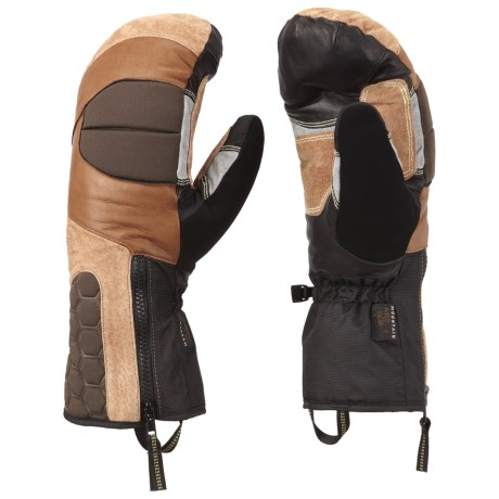 Mountain Hardwear Chawa Mittens - Waterproof (For Men) in Morrell