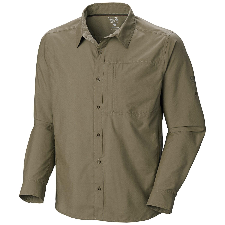 Q Stone Inc Mountain Hardwear Chiller Coolq Zero Shirt Upf Plus