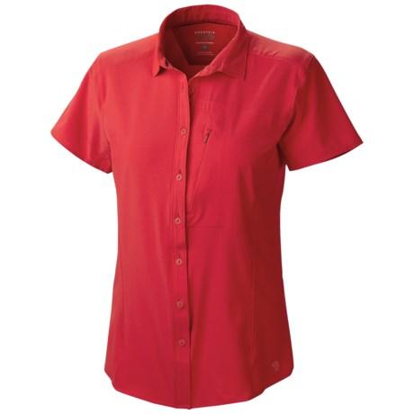 Mountain Hardwear Chiller Shirt UPF 30, Short Sleeve (For Women)