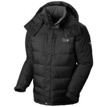 Mountain Hardwear Chillwave AirShield Core Down Parka - 650 Fill Power (For Men) in Black/Black - Closeouts