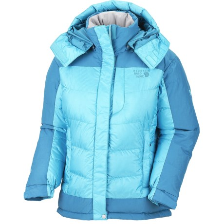 Mountain Hardwear Chillwave Down Jacket - 650 Fill Power (For Women) in Dragonfly/Oxide Blue