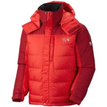 Mountain Hardwear Chillwave Down Jacket - AirShield Core, 650 Fill Power (For Men) in Cherry Bomb/Red Velvet - Closeouts