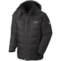 Mountain Hardwear Chillwave Down Parka - AirShield Core, 650 Fill Power (For Men) in Black/Black