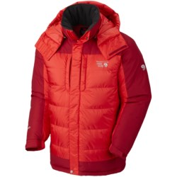 Mountain Hardwear Chillwave Down Parka - AirShield Core, 650 Fill Power (For Men) in Cherry Bomb