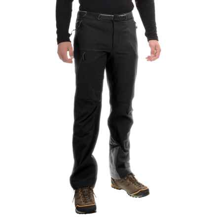 Mountain Hardwear Chockstone Alpine Soft Shell Pants (For Men) in Black - Closeouts