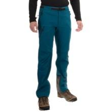 Mountain Hardwear Chockstone Alpine Soft Shell Pants (For Men) in Phoenix Blue - Closeouts