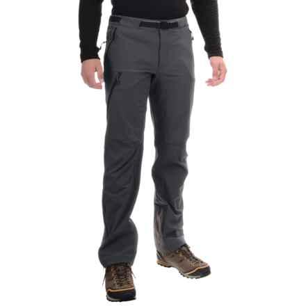 Mountain Hardwear Chockstone Alpine Soft Shell Pants (For Men) in Shark - Closeouts
