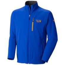 Mountain Hardwear Chockstone Jacket - Microchamois Lining (For Men) in Azul - Closeouts