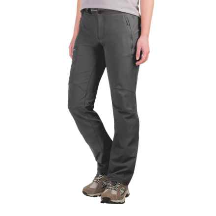 Mountain Hardwear Chockstone Midweight Active Pants - UPF 50 (For Women) in Shark - Closeouts