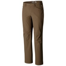 Mountain Hardwear Chockstone Midweight Casual Pants - UPF 50 (For Men) in Cigar - Closeouts