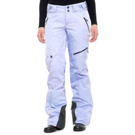 Mountain Hardwear Chute Ski Pants - Waterproof, Insulated (For Women) in Atmosfear - Closeouts
