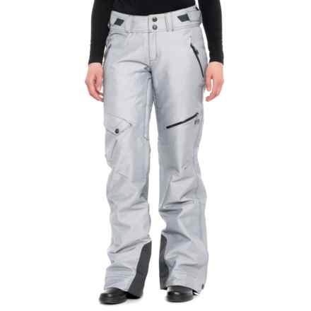 Mountain Hardwear Chute Ski Pants - Waterproof, Insulated (For Women) in Inkwell Twill - Closeouts