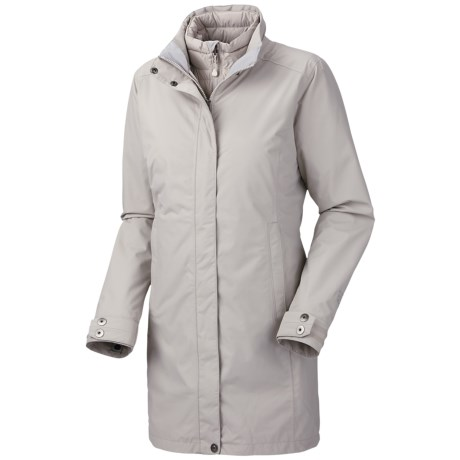 Mountain Hardwear Citilicious Trifecta Dry.Q Core Parka - Waterproof, 3-in-1 (For Women) in Dolomite