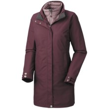 Mountain Hardwear Citilicious Trifecta Dry.Q Core Parka - Waterproof, 3-in-1 (For Women) in Seminole - Closeouts