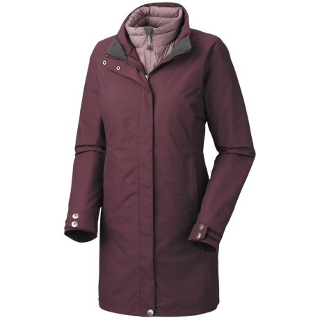 Mountain Hardwear Citilicious Trifecta Dry.Q Core Parka - Waterproof, 3-in-1 (For Women) in Seminole