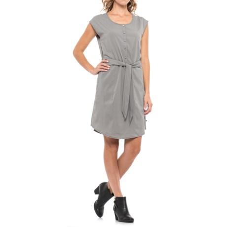Mountain Hardwear Citypass Travel Dress - UPF 30, Sleeveless (For Women) in Manta Grey