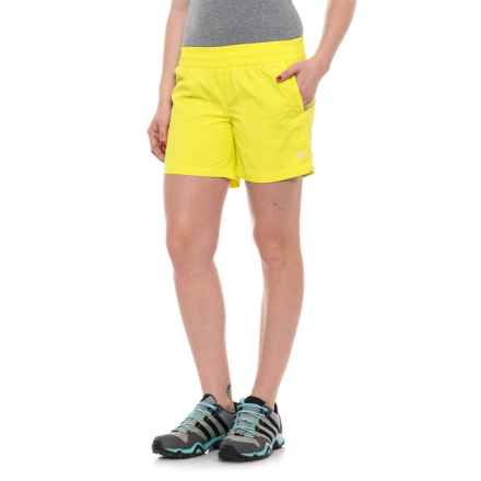 Mountain Hardwear Class IV Shorts (For Women) in Sticky Note - Closeouts