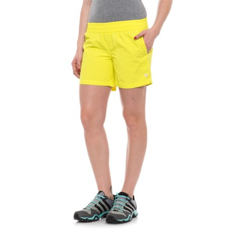 Mountain Hardwear Class IV Shorts (For Women) in Sticky Note