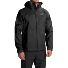 Mountain Hardwear Classic Plasmic Omni-Wick® EVAP Jacket - Waterproof (For Men) in Black - Closeouts
