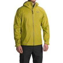 Mountain Hardwear Classic Plasmic Omni-Wick® EVAP Jacket - Waterproof (For Men) in Python Green - Closeouts