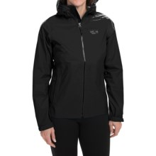 Mountain Hardwear Classic Plasmic Omni-Wick® EVAP Jacket - Waterproof (For Women) in Black - Closeouts