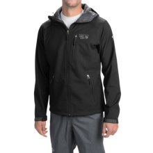 Mountain Hardwear Classic Principia Soft Shell Jacket - Fleece Lined (For Men) in Black - Closeouts