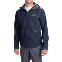 Mountain Hardwear Classic Principia Soft Shell Jacket - Fleece Lined (For Men) in Collegiate Navy - Closeouts