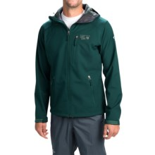 Mountain Hardwear Classic Principia Soft Shell Jacket - Fleece Lined (For Men) in Sherwood - Closeouts