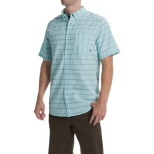 Mountain Hardwear Codelle Shirt - Button Front, Short Sleeve (For Men) in Pale Blue - Closeouts