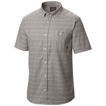 Mountain Hardwear Codelle Shirt - Button Front, Short Sleeve (For Men) in Steam - Closeouts