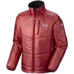 Mountain Hardwear Compressor Jacket - Insulated (For Men) in Red Velvet