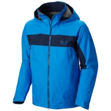 Mountain Hardwear Compulsion 3L Dry.Q® Elite Jacket - Waterproof (For Men) in Hyper Blue/Collegiate Navy - Closeouts