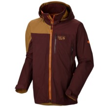 Mountain Hardwear Compulsion Dry.Q® Elite Ski Jacket - Waterproof (For Men) in Shiraz/Maple - Closeouts