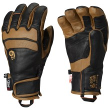 Mountain Hardwear Compulsion OutDry® Thermal.Q Elite Gloves - Waterproof, Insulated (For Men and Women) in Golden Brown - Closeouts