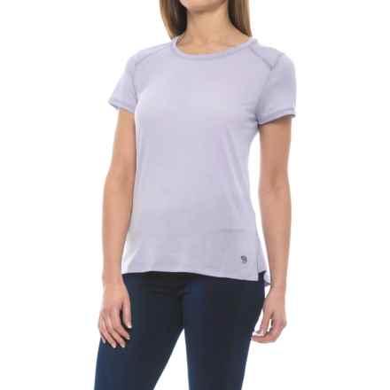 Mountain Hardwear Coolhiker AC T-Shirt - UPF 25, Short Sleeve (For Women) in Atmosfear - Closeouts