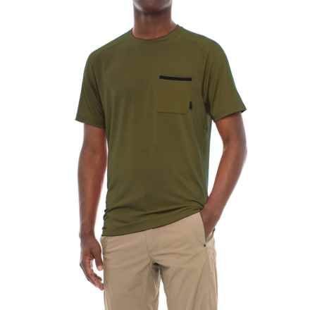 Mountain Hardwear Coolhiker AC T-Shirt - UPF 50, Short Sleeve (For Men) in Peatmoss - Closeouts